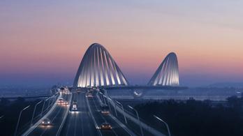 Csak a tervdokumentációja 4,1 milliárdba fog kerülni az új Duna-hídnak