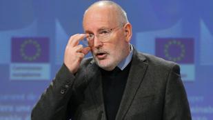 Gulyás Gergely levélben kérte Frans Timmermans felfüggesztését