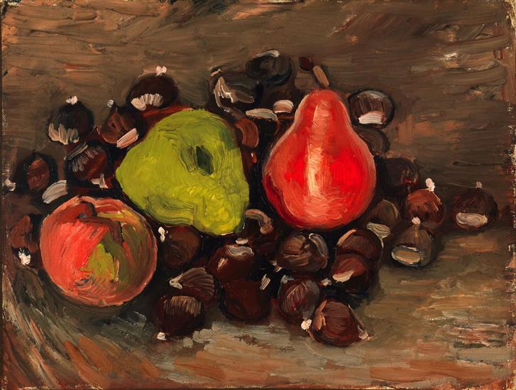 Csendélet gyümölccsel és gesztenyével