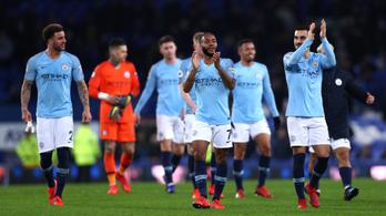 A City átvette a vezetést az angol bajnokságban