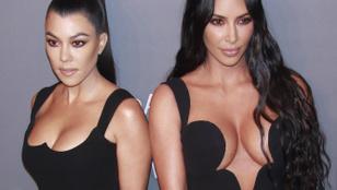 A Kardashian-lányok mindent kipakoltak az amfAR gáláján