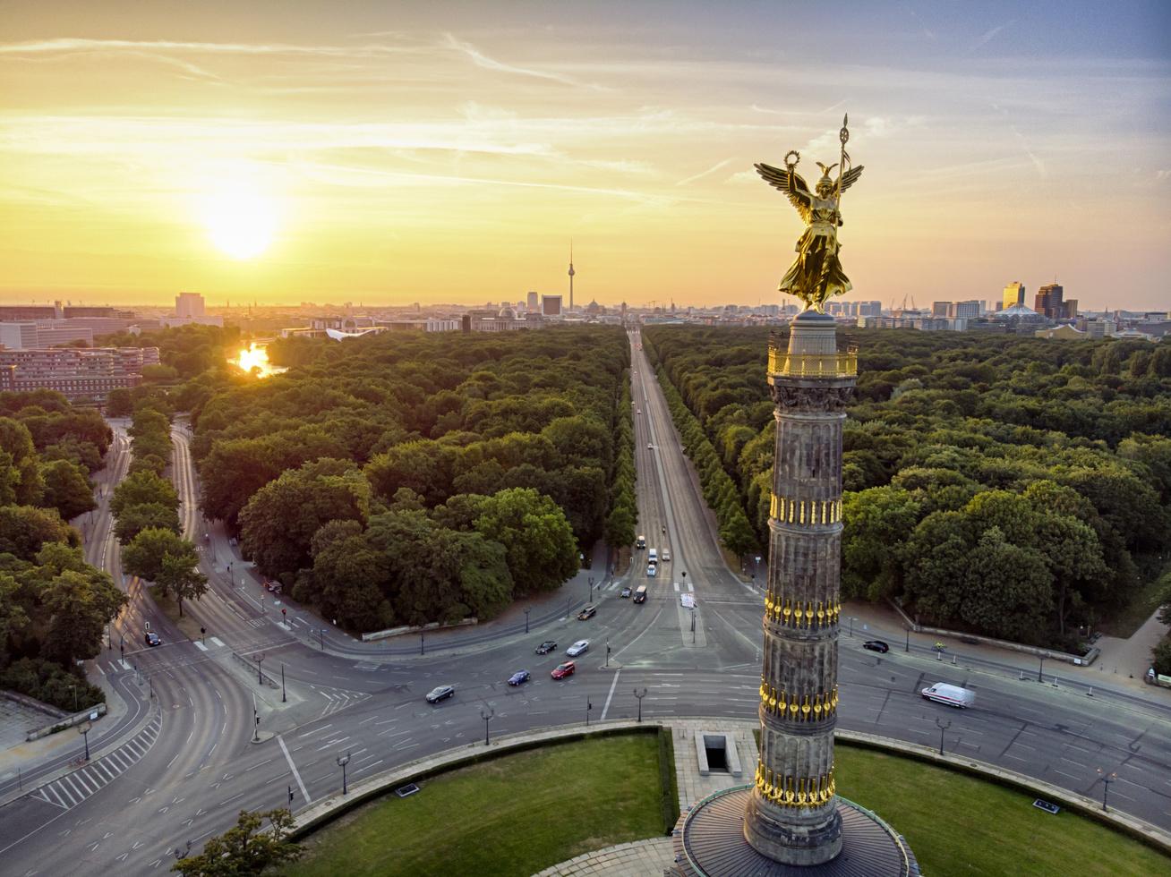 berlin győzelmi oszlop városnézés (2)