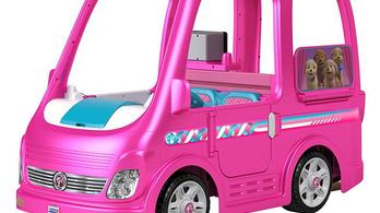 Beragad a gáz a Barbie-autón, ezért visszahívják
