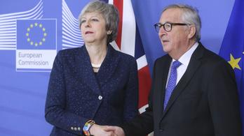 Juncker: Nem lehet úgy megváltoztatni a brexitmegállapodást, ahogy May akarja