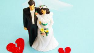 Percekkel az esküvő után annyira csúnyán szólt be a feleségének, hogy a nő azonnal elvált tőle