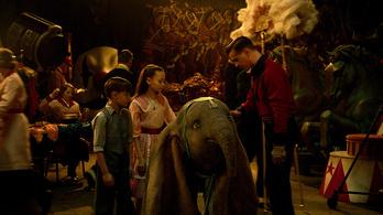 Elég csúnya lett a Disney élő szereplős Dumbója