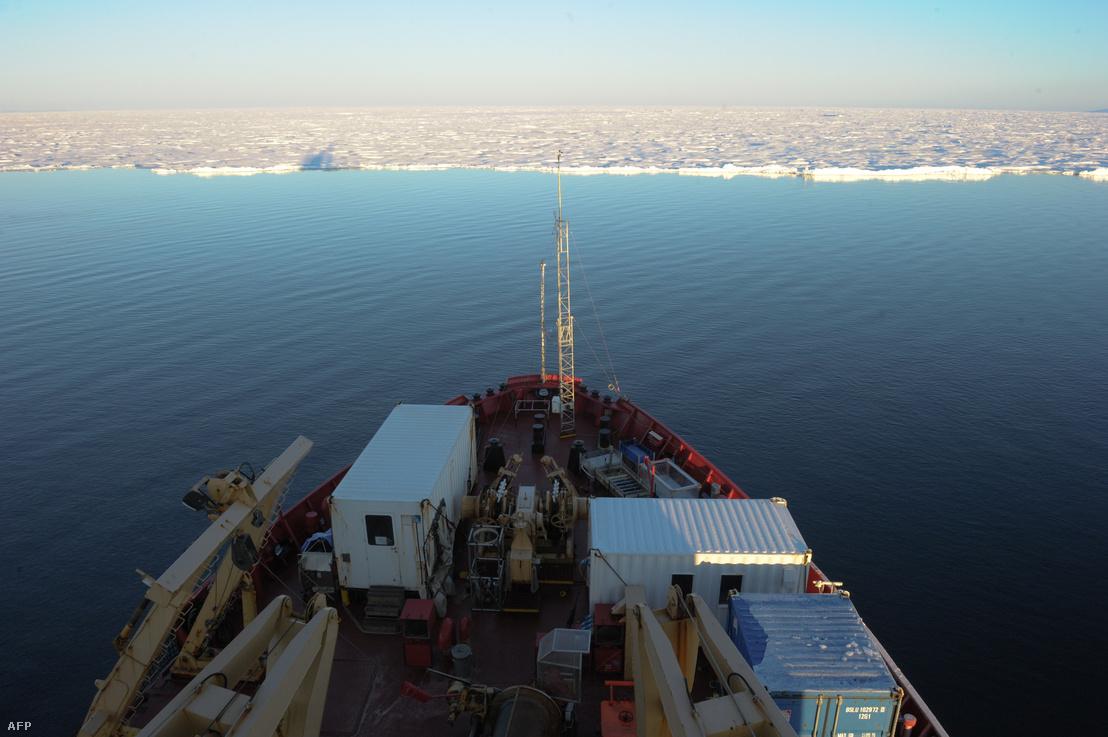 Az kandai Amundsen jégtörő a Jeges-tengeren
