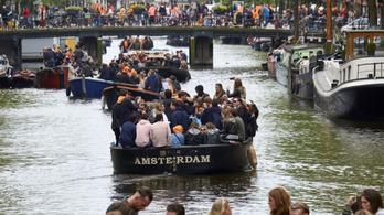 Legalább tíz kilométeren omlásveszélyes az amszterdami csatornák fala