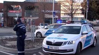 Elkapták a férfit, aki a veszprémi McDonald's felrobbantásával fenyegetőzött