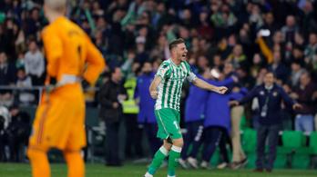Szögletből lőtt óriási gólt Joaquin