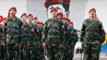 Az amerikaiak szerint a venezuelai katonák haldoklanak az éhségtől