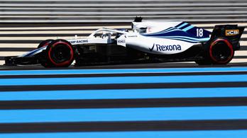 Hétfőn jön az új Williams, már a Martini nélkül