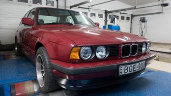 Totalcar Erőmérő: BMW 524 td  E34 – 1990.
