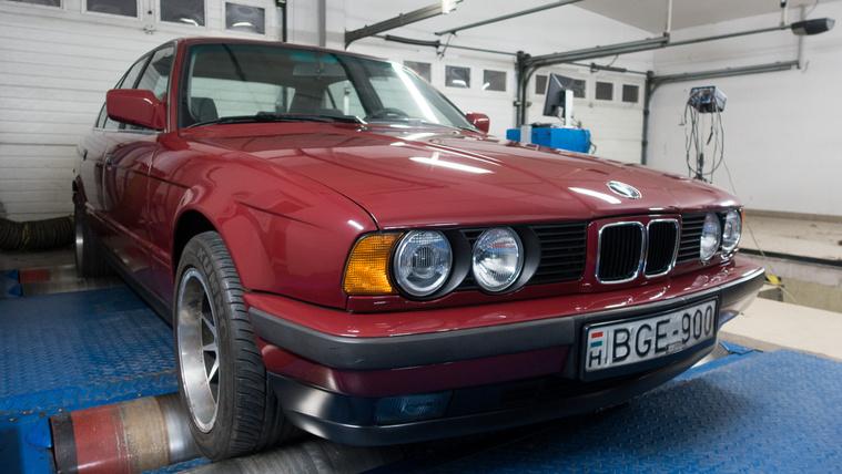 Kívánatos youngtimer lett a dízel BMW