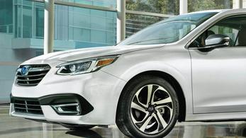 Megjött az új Subaru Legacy