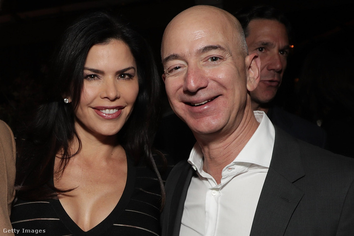 Lauren Sanchez És Jeff Bezos