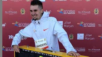 Egy svájci futó óriási Európa-csúcsot futott félmaratonon