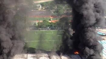Tíz halott a Flamengo edzőközpontjában kitört tűzben