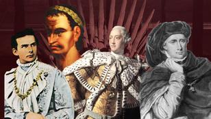 Ők voltak az 5 legőrültebb uralkodó a történelemben