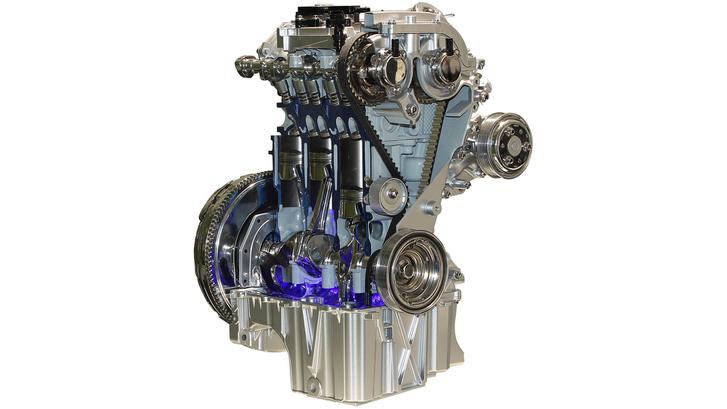 Így néz ki egy pró, háromhengeres Ford motor