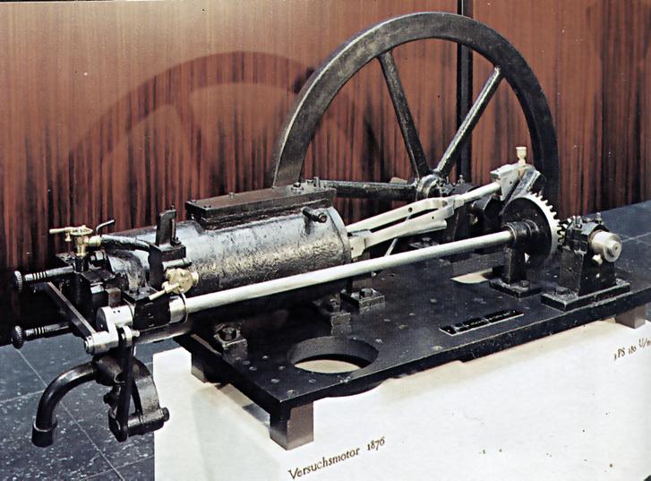 Ilyenek voltak az első Otto-motorok