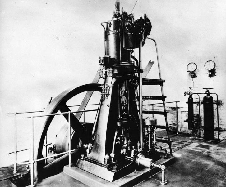 Így néztek ki az első dízelmotorok, ezt épp a Krupp Industries építette
