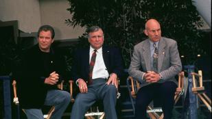 A Star Trek atyja háromszor zuhant le repülővel