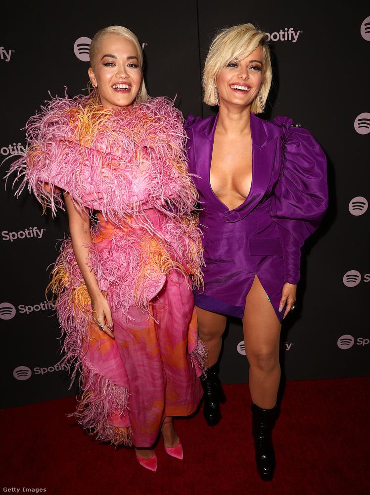 A Spotify nevű zeneszolgáltató cég csütörtökön rendezett partit a legjobb új előadók tiszteletére