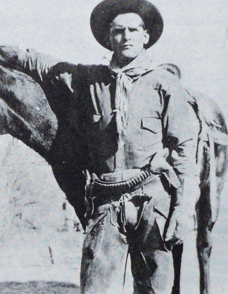Butch Cassidy (1866-1908) amerikai vonatrabló, bankrabló és a Wild Bunch banda vezetője.