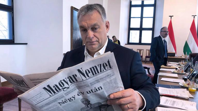 Defunct Hungarian political daily Magyar Nemzet rebooted as propaganda