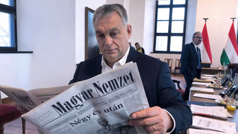 Defunct Hungarian political daily Magyar Nemzet rebooted as propaganda