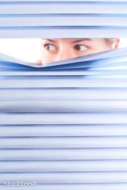 stockfresh 1251873 looking-trough-blinds sizeM