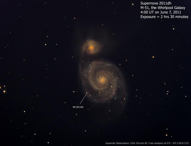 Az SN 2011dh szupernóva