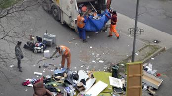 Már jövő héten elkezdődik Budapesten a lomtalanítás
