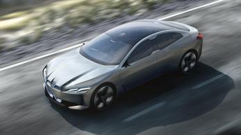 530 lóerős lesz a BMW következő villanyautója