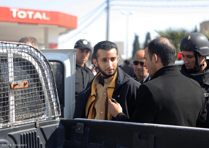 Jasszin Labidi, az egyik múzeumi támadó, akit még aznap elfogtak
