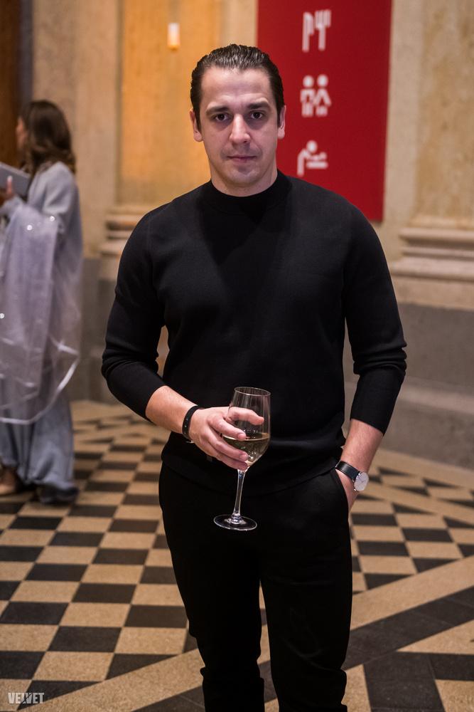 Kovács Lehet, a Katona József színház színésze, akit mostanában a Drága örökösök című sorozatban is lehet látni.