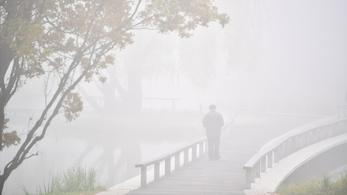 Figyelmeztetést adtak ki a fél országot beterítő köd miatt
