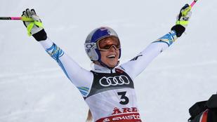 Lindsey Vonn bronzérmet nyert élete utolsó versenyén