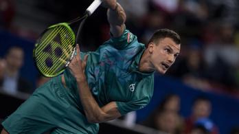 Nincs meg Fucsovics második ATP-győzelme