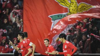 Dzsudzsákék óta nem látott 10-0-s kiütést hozott össze a Benfica