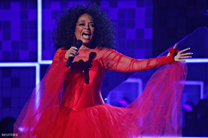 Diana Ross előadása a Grammy gálán