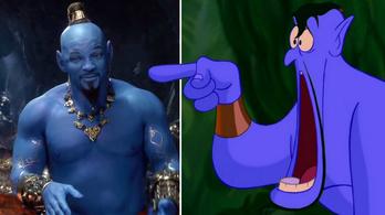 Óriási, kék Dzsinnt csináltak Will Smithből