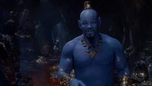 Will Smith lett az Aladdinból a Dzsinn, de akár az Avatar 2-be is elmehetne így