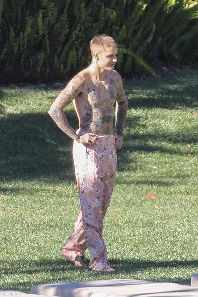 Mivel rendszeresen meglepődünk azon, hogy Justin Bieber testén alig van tetoválatlan felület...