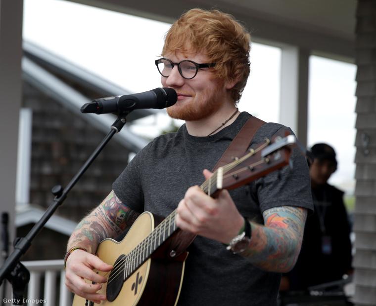 és Ed Sheeran sem okozott nekünk örömet, mikor tintamentes testű hírességeket kerestünk.