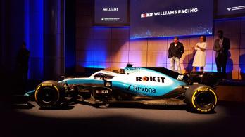 Kezdhetjük szokni, halványkék festést kapott 2019-re a Williams