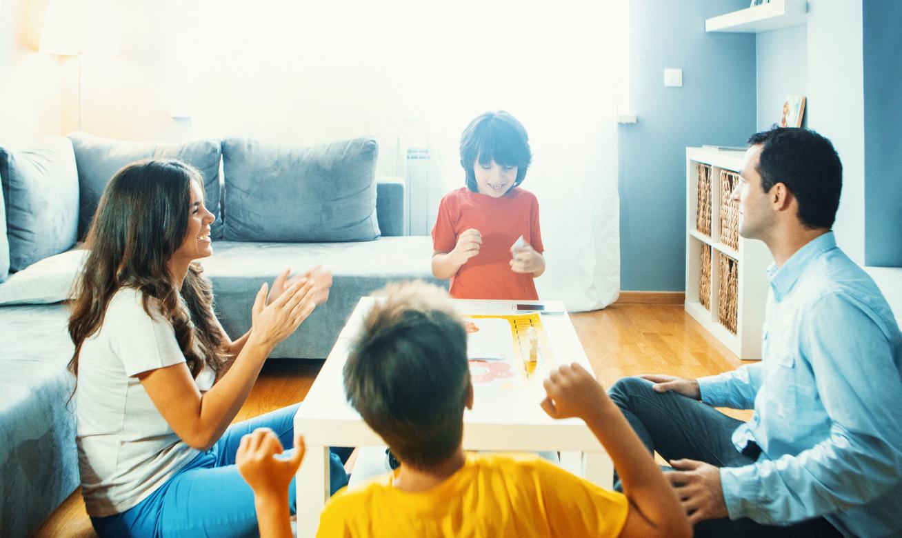 társasjáték család