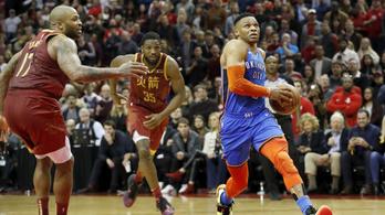 Westbrook megdöntött egy több mint 50 éves NBA-rekordot