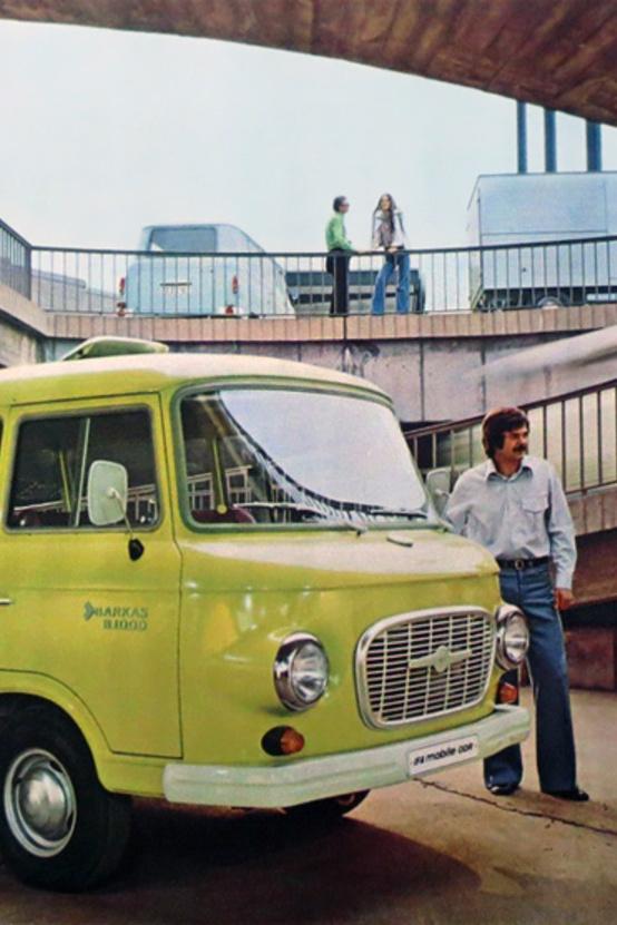 Barkas B1000 mikrobusz